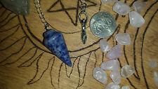 Pendulum Natural Sodalite Peace Healing Calming Creativity