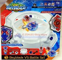 Beyblade burst Stadium Arena with Launcher Battle Platform Set Kids Toy Gift