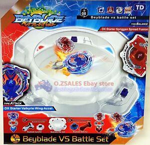 Beyblade burst Stadium Arena with Launcher Battle Platform Set Kids Toy Gift
