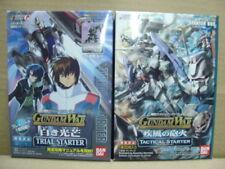 Bandai Gundam War Seed Destiny Trial & Tactical Starter Card Deck MISB
