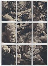2015 Sons of Anarchy Seasons 6 & 7 Complete (9) Card Brawl Puzzle Set