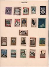 DANMARK AALBORG JULEN LOCAL STAMPS COLLECTIONS LABELS MH