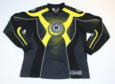 Smart Parts Black Yellow Paintball Padded Jersey Long Sleeve Shirt
