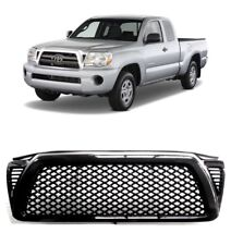 2005-2011 TOYOTA TACOMA GLOSS BLK DRAGON MESH FRONT HOOD BUMPER GRILL GRILLE ABS