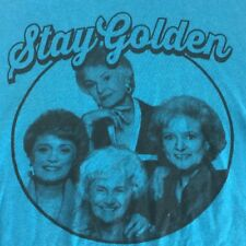 Golden Girls Small T Shirt Blue Stay Golden