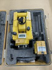Topcon Gts 3b Theodolite Total Station Surveying Equipment With Case S7