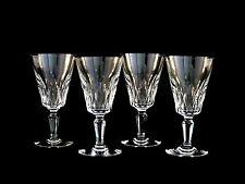 Baccarat Crystal Carcassonne Claret Red Wine Glasses Set of 4