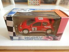Norev Peugeot 206 WRC in Red on 1:64 in Box
