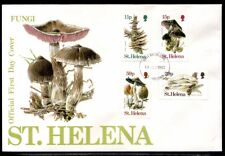 St. Helena Local Fungi First Day Cover