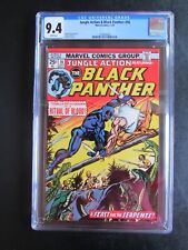Jungle Action 16 CGC 9.4 WP Black Panther Ritual of Blood