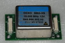 10 Mhz Double Oven OCXO  Sinewave +TMP04  8663-XS +12V  OSCILLOQUARTZ