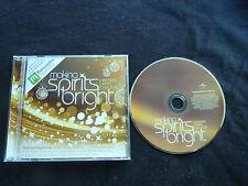 MAKING SPIRITS BRIGHT RARE CHRISTMAS CD! ELTON JOHN MAROON 5 JUSTIN BIEBER