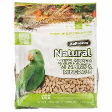 New listing zupreem natural parrot conure Ml pellet diet bird food 3lb eclectus grey amazon