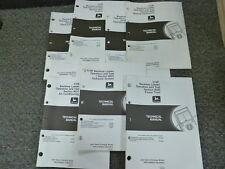 John Deere 310E Backhoe Loader Operation & Test Service Repair Manual Set TM1648