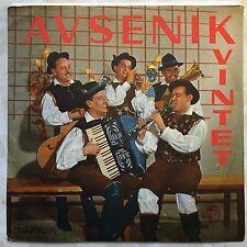 """Kvintet Avsenik Praznovanje Na Dezeli 7"""" Jugoton S-TD-8014 Rare Polka 1956 Yugo"""