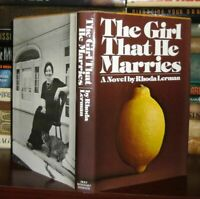 Lerman, Rhoda THE GIRL THAT HE MARRIES  1st Edition 1st Printing
