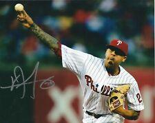 Signed 8x10 VINCENT VELASQUEZ Philadelphia Phillies  Autographed photo- COA