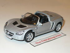 WELLY OPEL SPEEDSTER METALLIC SILVER 4.75 INCHES FREE SHIP