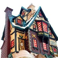 Lemax 2002 Ebenezer's Apartments Caddington Village #25644 Retired Exclusive