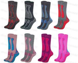 Childrens Thermal Socks 2.0 Tog Boys Girls Long Ski Wellington Welly Boots