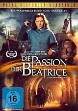 Die Passion der Beatrice * DVD Mittelalter Epos mit Julie Delpy Pidax Neu Ovp