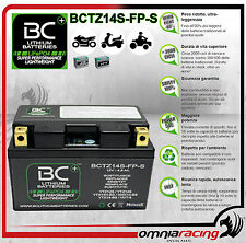 Batteria Moto Litio BC LifePO4 BCTZ14S-FP-S Battery Lithium per YTZ12S / YTZ14S