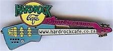 Hard Rock Cafe JOHANNESBURG Blue Doubleneck Guitar PIN