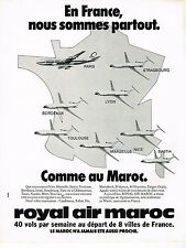 PUBLICITE ADVERTISING 044   1979    ROYAL AIR MAROC   compagnie aérienne