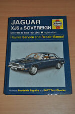 Haynes Reparaturanleitung H3261 JAGUAR XJ6 SOVEREIGN 1986-1994 Workshop Manual
