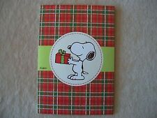"""Peanuts Snoopy With Present Christmas Card By Hallmark, 4 1/2"""" X 6 1/2"""", NEW!!"""