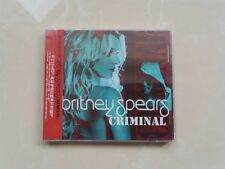 """Britney Spears """"Criminal"""" Remix EP 5-Track CD China NEW"""
