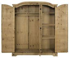 Kleiderschrank 3 Türen Massivholz Kiefer