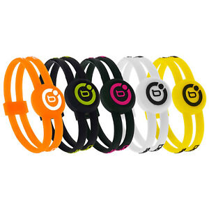 Bioflow Sports Twin Magnetic Silicone Therapy Recovery Wristband Bracelet Golf