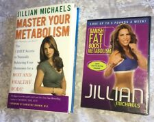 JILLIAN MICHAEL'S MASTER YOUR METABOLISM Book & BANISH FAT DVD LOT