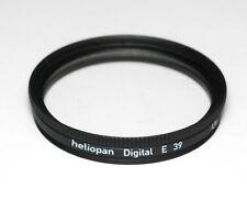 Heliopan filtro UV e 39mm x 0,5 vergütet slim-Made in Germany (nuevo/en el embalaje original)