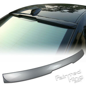 Painted Fit For BMW 5-Series E60 A-Type Sedan Rear Roof Lip Spoiler ABS 04-10