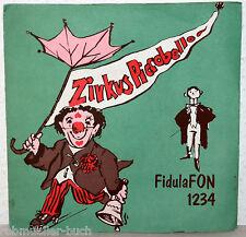 "7"" Vinyl ZIRKUS PICCO BELLO - Fidula FON 1234"
