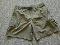 New Columbia Men's Baggies Swim Hike Shorts Trunks Size 2XL XXL Color Brown