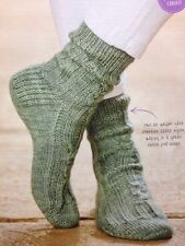 Ladies Cable Socks DK KNITTING PATTERN