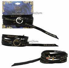 Disney Beauty And The Beast Live Action Beauty Found Within Rose Wrap Bracelet