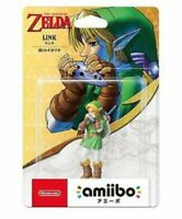 NEW Nintendo Amiibo Link The Legend of Zelda Ocarina of Time Switch 3DS Japan