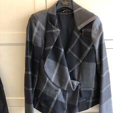 ladies vivienne westwood Check Jacket Size Italian 44