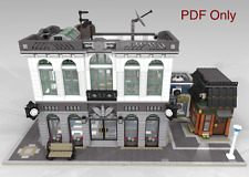 Lego Custom Modular Instructions Brick Bank 10251 - PDF ONLY