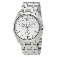 Tissot Couturier GMT Silver Dial Trend stainless Steel