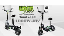 Uberscoot 1000 W 48 V Scooter Électrique NEUF 2018 Route Légal scooter,