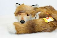 NWT New with Tags ~ STEIFF Reclining Laying Down FOX Curled up BgB