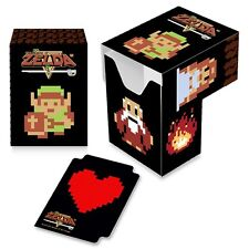 The Legend of Zelda 8-bit LINK NES retro ULTRA PRO DECK BOX FOR MTG POKEMON CARD
