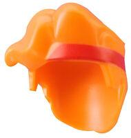 Lego Haare in orange Stirnband rot für Minifigur 41610pb01 Hercules Neu