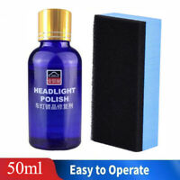 50ml 9H Hardness Auto Car Headlight Len Restorer Repair Liquid Polish Cleaning