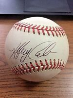 JEFF CIRILLO SIGNED AUTOGRAPHED OAL BASEBALL!  Brewers, Rockies, Mariners!
